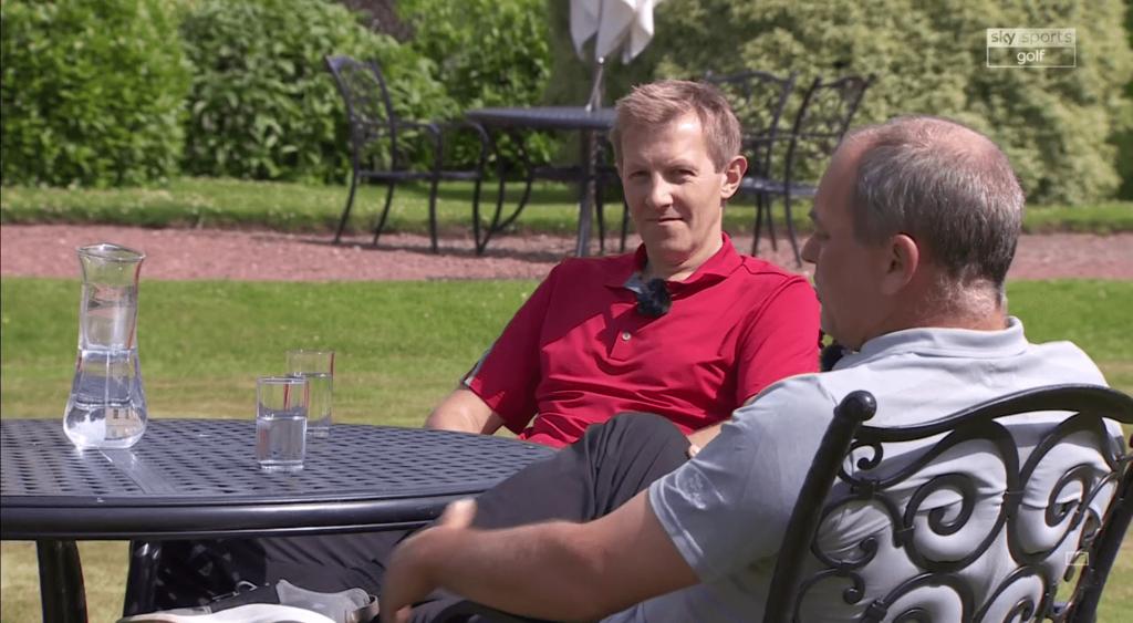 David Charlton as on Skysports Golf Channel