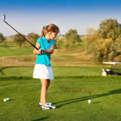 How to help a young golfer gain self confidence